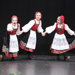 Norwegian dancers
