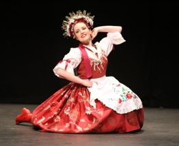 Hungarian dancer